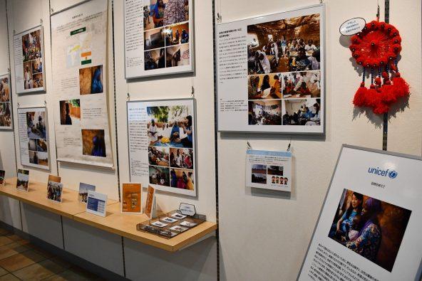 ユニセフ写真展『アグネス大使 ニジェール訪問:砂漠をわたる子どもたち~開発から取り残された国ニジェール』