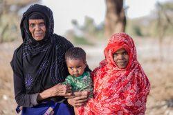 エチオピアでFGM根絶のコミュニティに入ったファトマさんと母親で元施術者のアシヤさん。(2019年1月撮影)