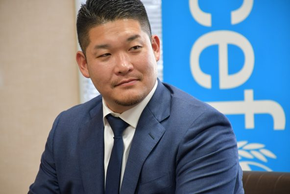 2020年1月30日、ユニセフハウスを訪問された筒香嘉智選手。