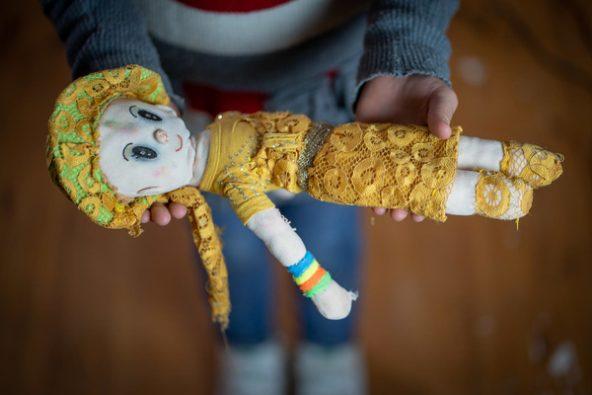 両親がくれたお人形