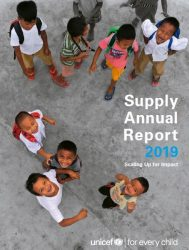 報告書「ユニセフ物資供給センター年次報告書2019」(原題:The 2019 Supply Annual Report)