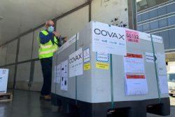 COVAXを通じて、ヨルダン川西岸地区およびガザ地区に届いたCOVID-19ワクチン6万1,440回分。
