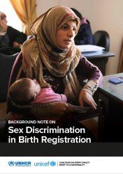 報告書『出生登録における性差別(原題:Sex Discrimination in Birth Registration)』