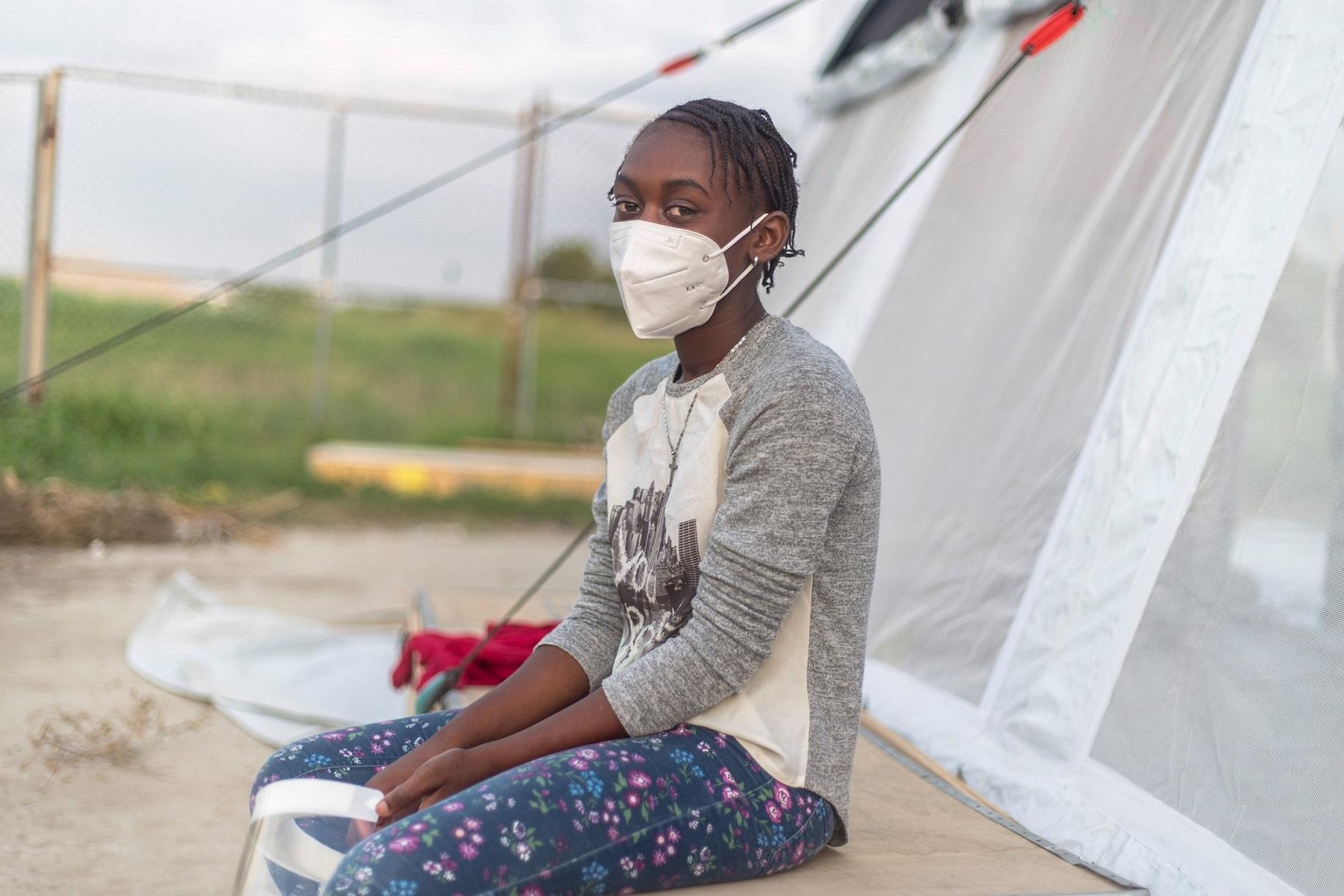 1日に約170人の子どもたちが、米国やキューバからハイチに送還されている。
