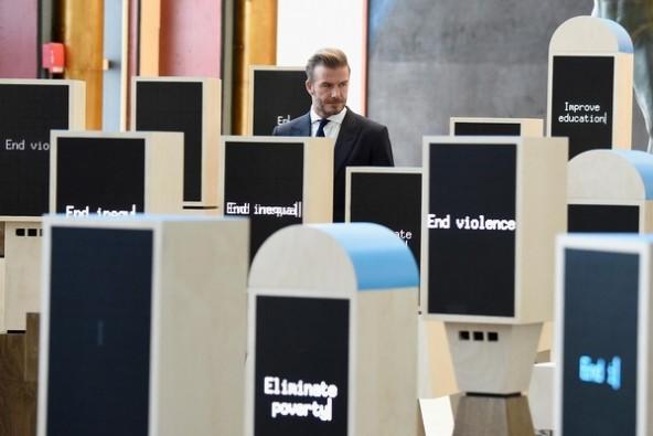 若者たちの声を届けるデジタル掲示板。