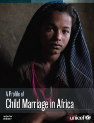 A Profile of Child Marriage in Africa