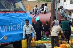 給水支援を実施し、安全な水を提供している。