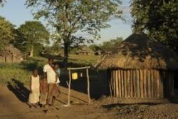 コミュニティに設置されたトイレ