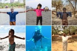 インスタグラムでハッシュタグ(#ClimateChain)を使った啓発キャンペーンを実施。