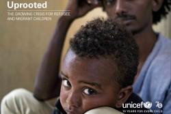 ユニセフ報告書「ふるさとを奪われた子どもたち:拡大する難民・移民危機」