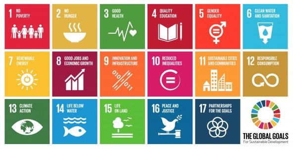 SDGs(持続可能な開発目標)、17の目標