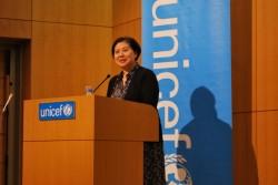 国連子どもの権利委員会委員の大谷美紀子弁護士。