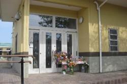 津波で被災したふじ幼稚園の旧園舎(2011年撮影)。鈴木園長先生は、6年たった今でも毎日、この場所を訪れ、亡くなった子どもたちと会い、現在の園舎に向かっていらっしゃいます。