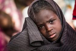 ボコ・ハラムから解放された6歳の女の子(ナイジェリア・バガ)2017年1月撮影 ※本文との直接の関係はありません。