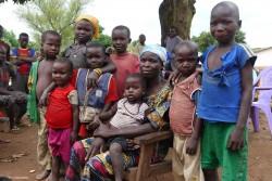 中央アフリカ共和国の子どもたち(2015年2月撮影)※本文との直接の関係はありません。