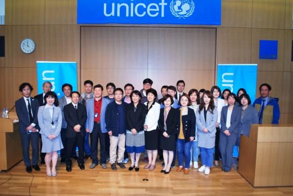 「日韓子どもにやさしいまちづくり自治体交流会」参加者のみなさん