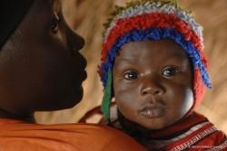 スーダンの子ども。
