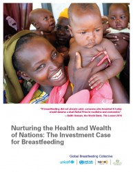 『国の健康と富をもたらす:母乳育児への投資事例(原題:Nurturing the Health and Wealth of Nations: The Investment Case for Breastfeeding)』