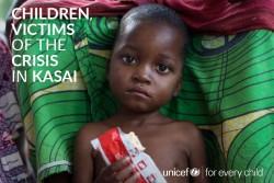 『子どもたちはカサイ地域の暴力の犠牲者 (Children, victims of the violence in Kasai)』