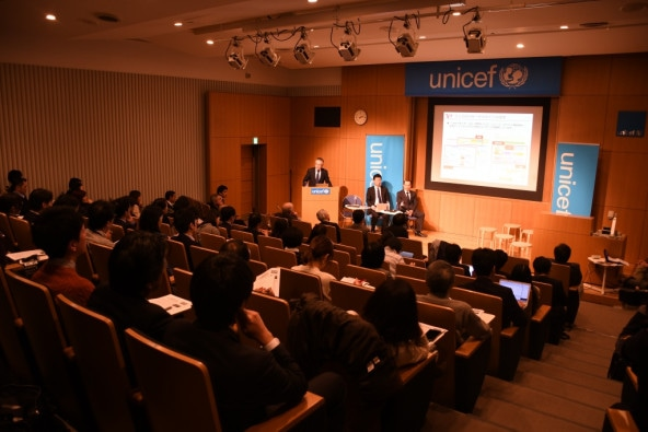 2017年12月11日「世界子供白書2017」発表会の会場には、多くの方々にお越しいただきました。