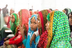 講習を受けるFGM/C防止のための活動を担う女性たち。(エチオピア)2017年5月撮影