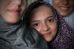 また学校に通える日を夢見る15歳のサルサベルさん。(2016年10月撮影)