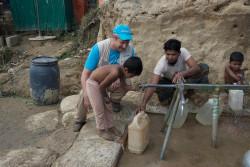 ユニセフのロヒンギャ難民支援に携わるマーティン・ワース 水と衛生(WASH)担当チーフ。
