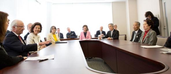 「子どもに対する暴力撲滅についての会合」の様子。