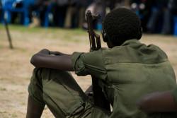 On 17 May 2018 in Pibor, South Sudan, 210 children were formally released from armed groups.  During the release ceremony, the children were formally disarmed and provided with civilian clothes. Medical screenings will be carried out, and they will receive counselling and psychosocial support as part of the reintegration programme, which is implemented by UNICEF and partners. The children released today included three girls and largely came from the opposition group the SPLA-IO, with eight having been associated with the National Salvation Front (NSF).  More than 800 children have been released since start of 2018. An estimated 19,000 children continue to serve in the ranks of armed forces and groups in South Sudan.