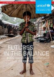 「危ぶまれる未来:ロヒンギャの子ども世代に希望を築く(原題:Future in the Balance: Building Hope for a Generation of Rohingya Children)」