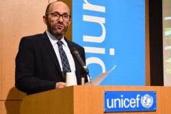 ユニセフ本部 民間協力渉外局副局長、Andrés Franco氏