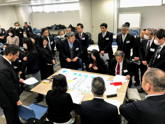 ユニセフ研修会~校長先生たちと考える「持続可能な開発目標(SDGs)」~の様子