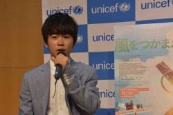 『風をつかまえた少年』上映後のトークイベントに登壇した鈴木福さん