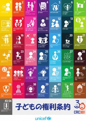 子どもの権利条約 ポスター